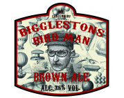 Canterbury Brewers (Foundry Brew Pub) Biggleston's Bird Man Brown Ale