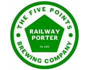 The Five Points Brewing Company Railway Porter